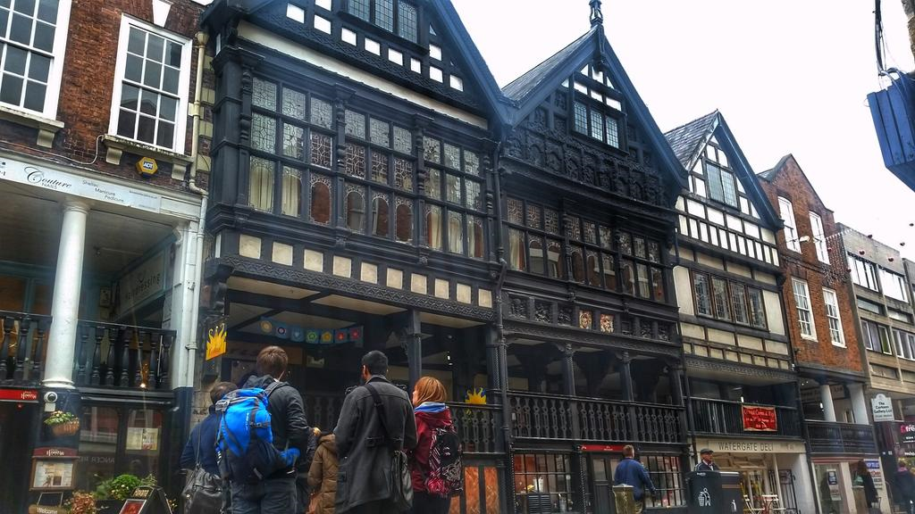 Our field trip to Chester to discover more about its architecture