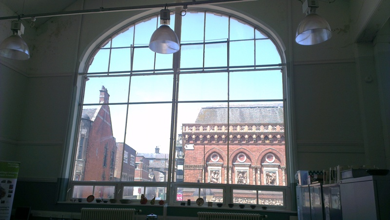 View from Burslem School of Art