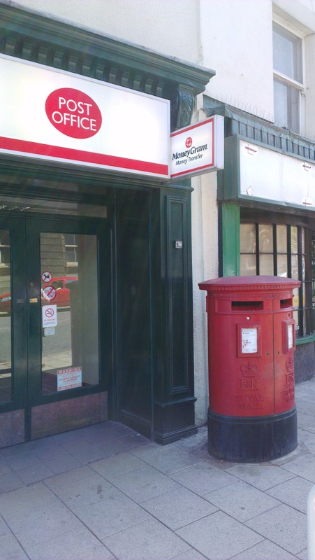 Post Office in Burslem