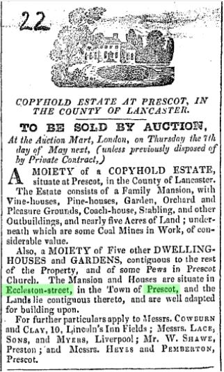 Attempted Sale of Atherton Hall